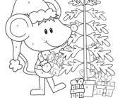 coloring pages christmas math worksheets color number