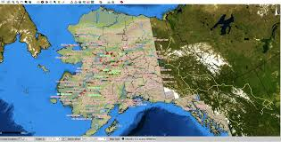Wildfire Haze Map by Witnessing Wildfires At Wrangell St Elias The Student