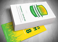 Mowing Business Cards Business Cards Gold Coast And Tweed Heads