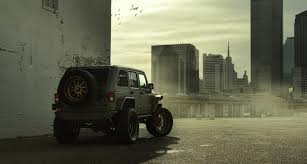starwood motors this jeep wrangler monster truck is a creature of darkness