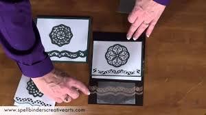 spellbinders card creator borderabilities