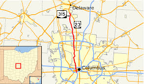 Columbus Ohio Maps by Ohio State Route 315 Wikipedia