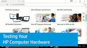 hp pcs testing for hardware failures hp customer support