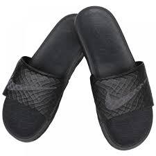 nike benassi solarsoft 2 slide sandals black anthracite