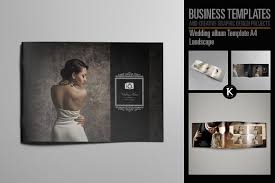 wedding album templates wedding album template a4 templates creative market