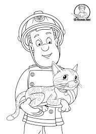 17 coloring pages fireman fireman colouring pictures az