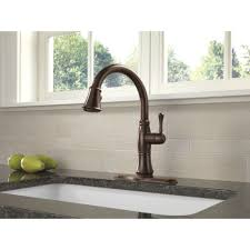 Delta Kitchen Faucet Handle by Kitchen Faucet Self Expression Delta Cassidy Kitchen Faucet