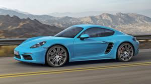 old porsche black this is the new porsche 718 cayman top gear