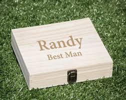 wooden groomsmen gifts groomsmen gift box etsy