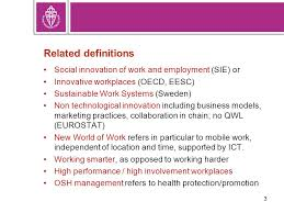 si e ocde european workplace innovation workplace innovation for