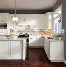 cottage painted linen cabinets transitional kitchen dc metro
