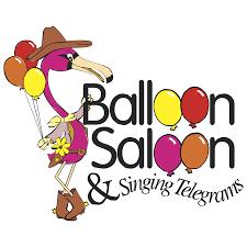 singing telegrams balloon saloon singing telegrams worldvectorlogo
