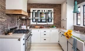 kitchen rustic brick backsplash kitchen sage brick kitchen