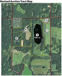 absolute real estate auction 520 acres offered in 5 tracts in