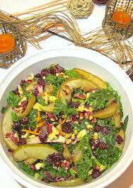 kale salad for thanksgiving fall harvest roasted pear walnut and kale salad u2014 tasting page
