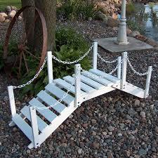 backyard bridge building home outdoor decoration