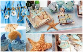 beach themed party decorations the home design applicable beach