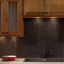 kitchen fasade backsplash and wooden kitchen cabinet plus double