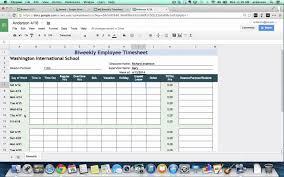 Bi Weekly Budget Spreadsheet by Tutorial Biweekly Timesheets Using Google Spreadsheets Youtube