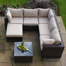 Outdoor Rattan Corner Sofa Maze Rattan London Rattan Corner Sofa Set