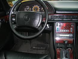 mercedes 560sel 1991 mercedes 560sel instrument cluster cars today