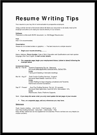Free Resume Template Or Tips Resume Templates Tips For Using Resume Templates To Write A