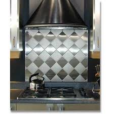 Best Back Splashes Images On Pinterest Stainless Backsplash - Custom stainless steel backsplash