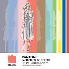 Color Forecast by Top 10 Colors Spring 2016 Pantone Fashion Color Report From