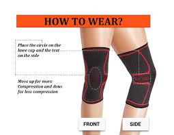 amazon com ultracomfy u2013 one pair of knee brace knee compression