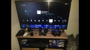 gaming setup ps4 ps4 pro gaming setup hd youtube