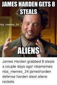 Mba Meme - james harden gets 8 steals mba memes 24 aliens james harden grabbed
