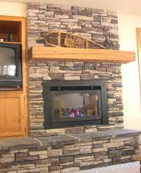 stacked stone electric fireplace heater nomadictrade