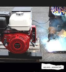 honda gas engine drive welder generator