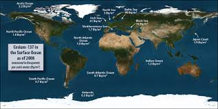 world map oceans seas bays lakes how radioactive is our