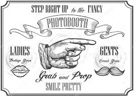 photo booth sign photobooth pointer sign vector photo booth props photo automat