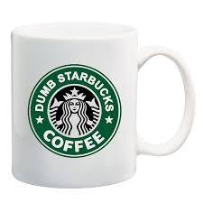 amazon com nathan for you dumb starbucks coffee mug by beegeetees