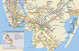 L Train Map Metrous