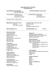 Federal Resume Format Template Free Resume Templates 79 Appealing Sample Template Australia