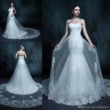 Wedding Dresses Discount Fall Mermaid Wedding Dresses Lace 2016 Cheap Long Sweetheart