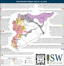 Syria Situation Map by Eye On The World Syria Situation Report July 16 22 2016
