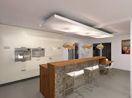 faux plafond cuisine le design dun dans salon d pour newsindo co
