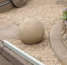driveway edging balls garden ornaments