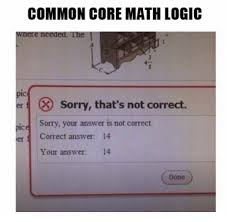common core math logic wnere needed the er x sorry that s not