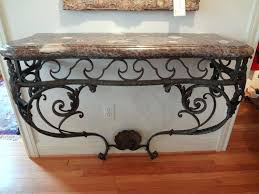 Mango Wood Console Table Mango Wood And Iron Console Table Wrought Rustic U2013 Launchwith Me