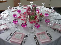 Wedding Reception Table Decorations Ideas Crafty s with