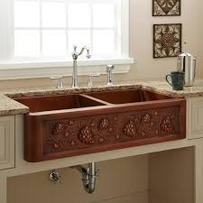 undermount copper kitchen sink victoriaentrelassombras com beautiful copper kitchen sink undermount brown grapes double bowl copper sink stainless steel delta kitchen faucets