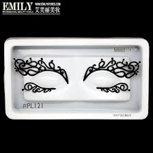 deer tattoo lace upper and lower costume party halloween black
