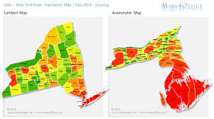 Counties In Ny State Map Us York State Map County Population Density