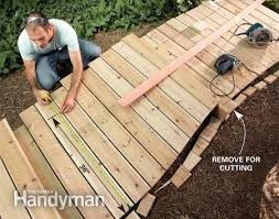 How To Build A Wooden Table Best 25 Wooden Walkways Ideas On Pinterest Wood Walkway Pallet