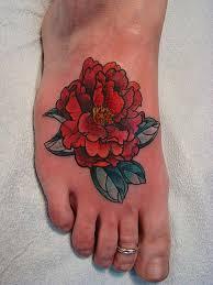 Flower Tattoo Designs On Feet - 136 best foot tattoos images on pinterest foot tattoos tattoo